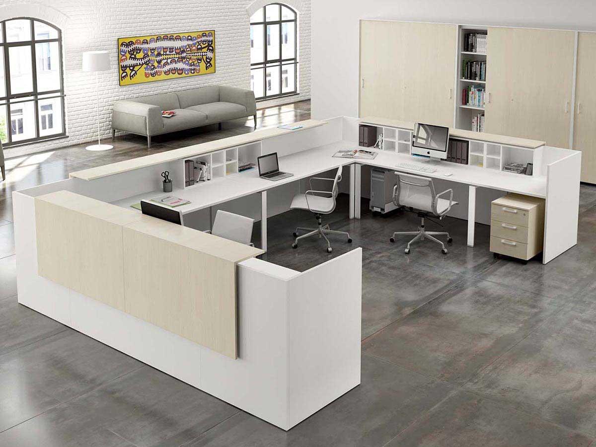 Arredo ufficio services projects for Reception ufficio