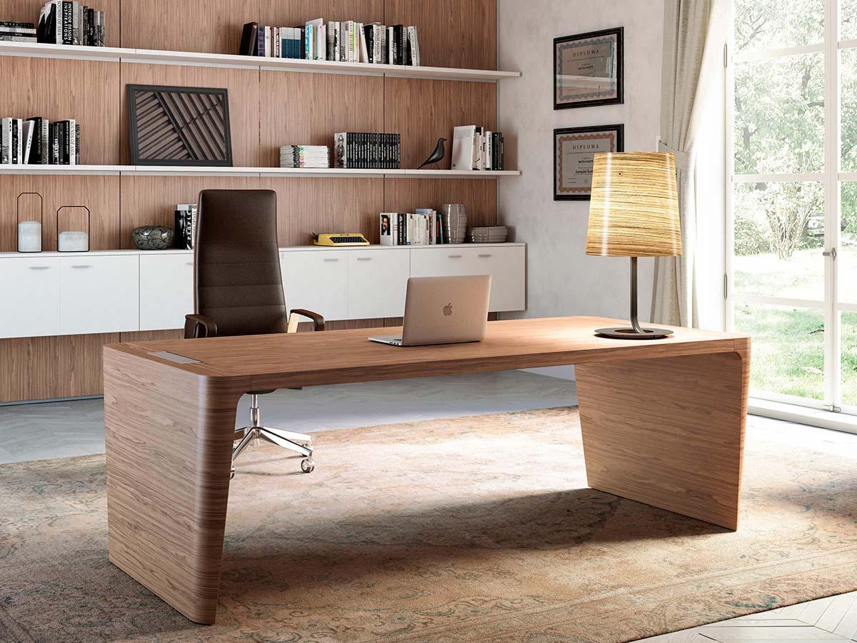 Scrivania In Legno Chiaro : Ufficio legno chiaro scrivanie in legno estetica e funzionalità